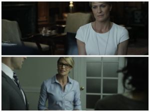 "claire en ""the house of cards"""
