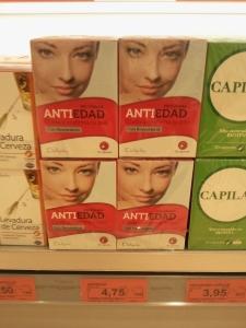 Utilización de una misma foto standard para diferentes campañas en cosmética