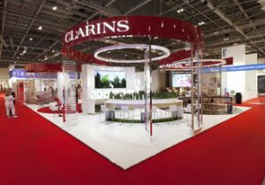 clarins en Professionalbeauty london 2014